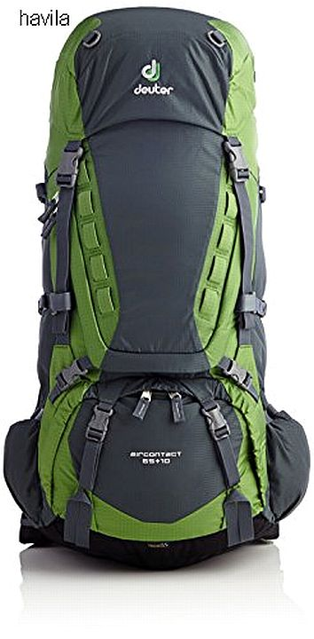 מוצ'ילה-תרמיל מסע DEUTER דגם AIRCONTACT 65+10