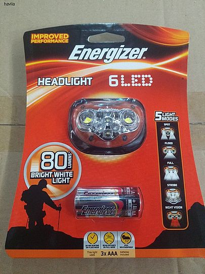 פנס ראש Energizer 6 LED