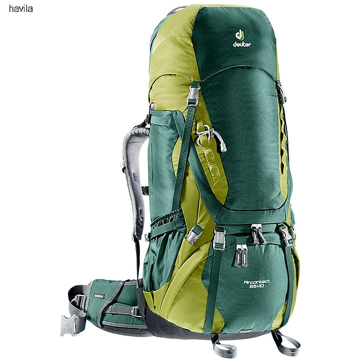 מוצ'ילה-תרמיל מסע DEUTER דגם AIRCONTACT 75+10