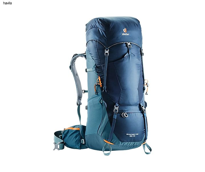 deuter aircontact lite 65+10 artic navy