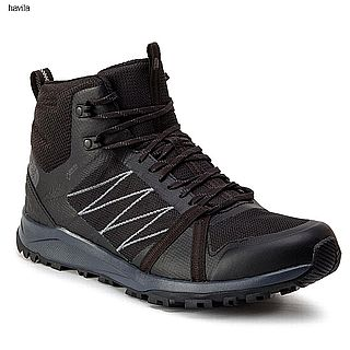 נעל הליכה  TNF Llitewave fastpack Mid GTX Black